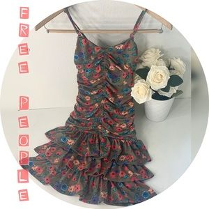 NWOT Free People floral dress